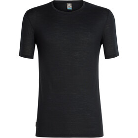 Icebreaker Elmnts SS Crewe Top Men, black
